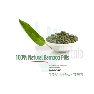 Natural Bamboo Pills 5oz