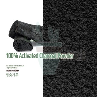 100% Natural Activated Charcoal Powder