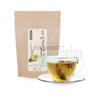 [Pyramid Teabags] Roasted Burdock Root with Chrysanthemum Tea