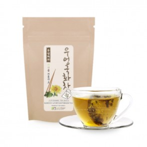[Pyramid Teabags] Roasted Burdock Root with Chrysanthemum Tea