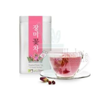 삼각티백 꽃차l 장미차 TIN