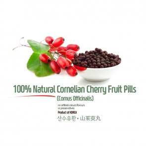 Natural Cornelian Cherry Pills 5oz